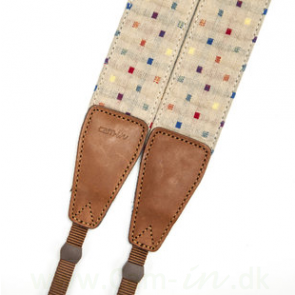 Denim-dots, Beige, CAM7125