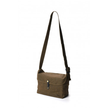 Brown Canvas Camera Bag